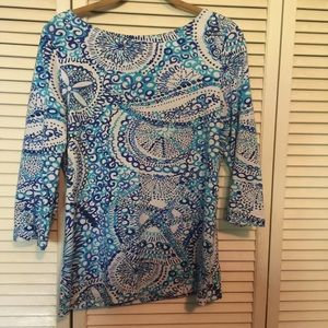 b7707dbe6ebcb 51% off Lilly Pulitzer Tops - ⭐️SOLD⭐️Lilly Pulitzer Moxy Top ...